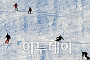 [포토] 스키장에서 주말을