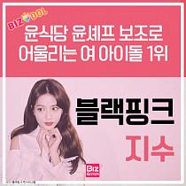 [카드뉴스]윤식당 보조로 어울리는 여 아이돌 1위 '블랙핑크 지수'