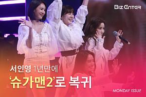 """[비즈카드] '슈가맨2' 서인영 """"'죄송합니다' 그 한 마디, 하고 싶었다"""""""