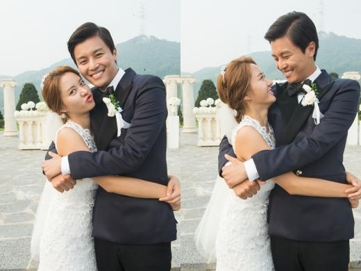 Gina woon wedding