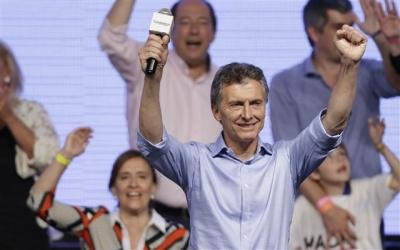▲마우리시오 마크리 아르헨티나 대통령 당선자. AP뉴시스