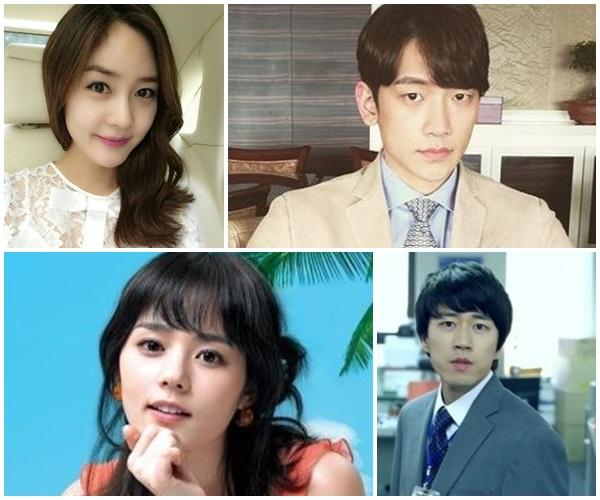 ▲성유리, 비, 한가인, 장수원(출처=성유리, 비 SNS/온라인커뮤니티/tvN'미생물' 캡처)