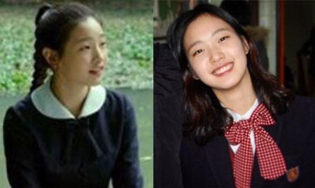 (출처=영화 '경성학교' 스틸컷, 김고은 인스타그램)