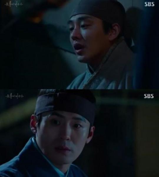 ▲'육룡이나르샤' 조말생(출처=SBS 월화드라마 '육룡이나르샤' 영상 캡처)