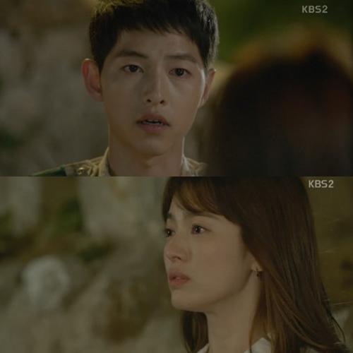 ▲(출처=KBS 2TV 수목드라마 '태양의후예' 영상 캡처)