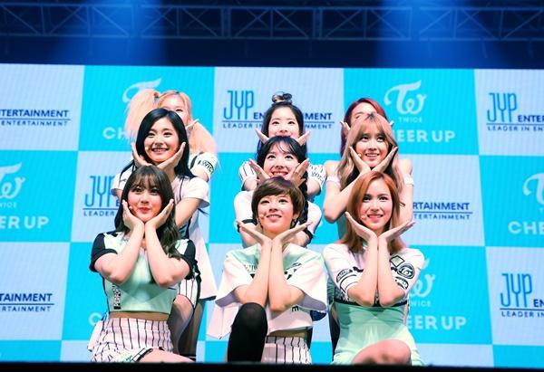 ▲걸그룹 트와이스(사진=JYP엔터테인먼트)