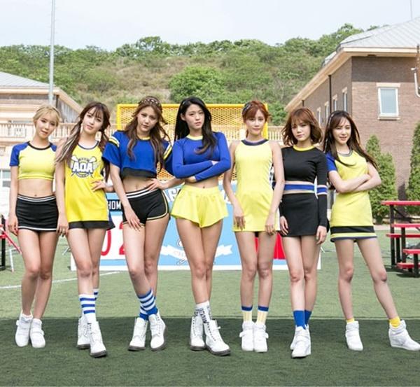 ▲걸그룹 AOA(사진=FNC엔터테인먼트)