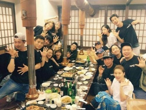 ▲'또오해영' 출연 배우들(출처=전혜빈 SNS)