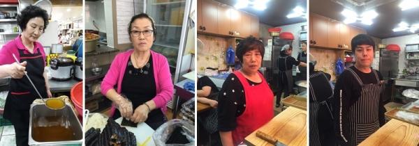 ▲'생활의달인' 유부김밥·우엉김밥·손가락김밥(출처=SBS '생활의달인')