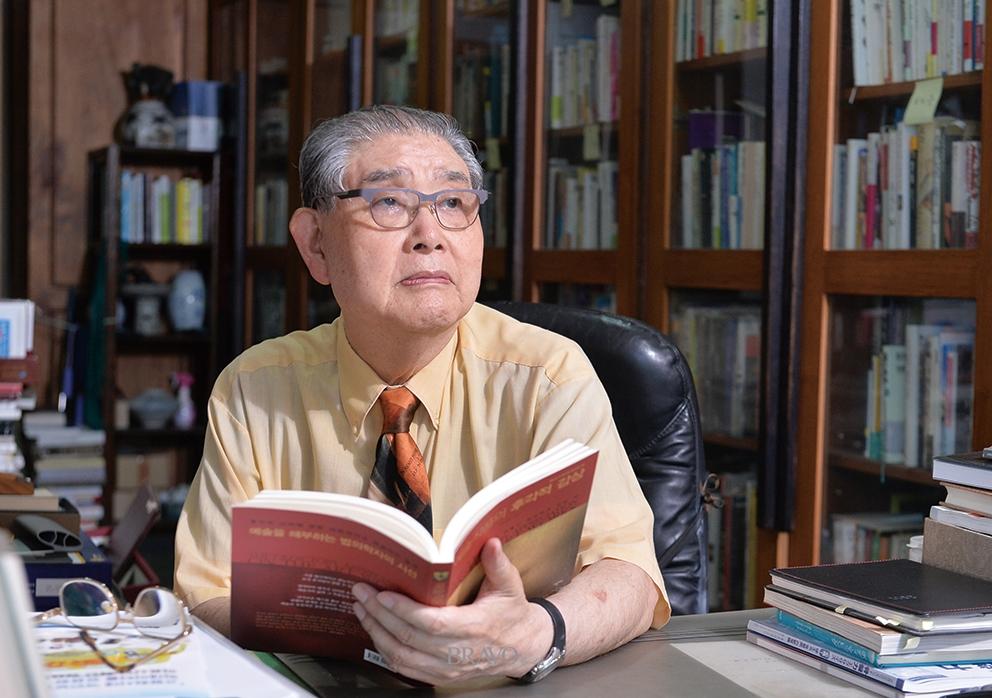 ▲법의학자 문국진(한명섭 프리랜서 prohanga@hanmail.net)