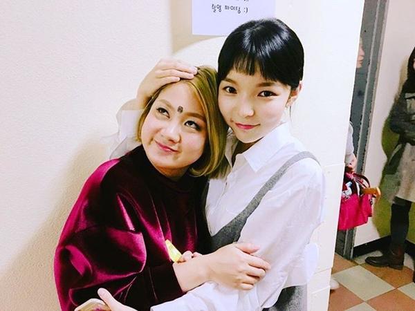 ▲개그맨 박나래, 배우 박진주(사진=박나래 인스타그램)
