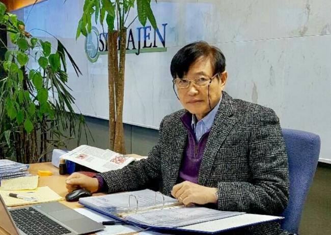 ▲지성권 신라젠 연구소장