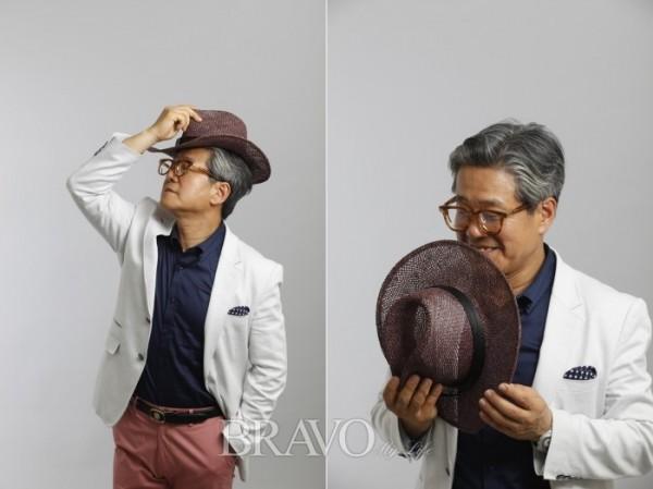 ▲김성훈 골드스톤 그룹 대표가 <브라보 마이 라이프> 매거진에 모델로 활동했던 당시 모습. (브라보 마이 라이프 DB)