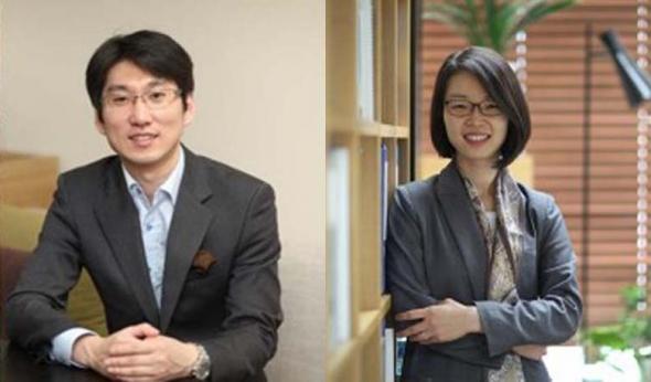 ▲원철희 레모넥스 CEO와 민달희 CSO
