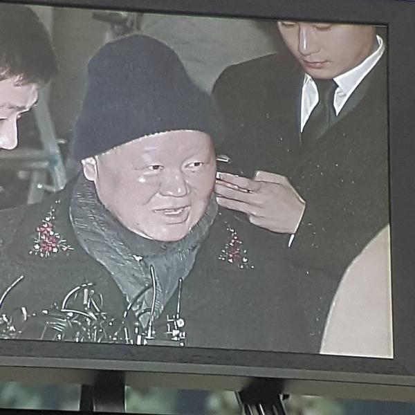▲김경숙 전 이화여대 체육대학장(사진=남희석 인스타그램)