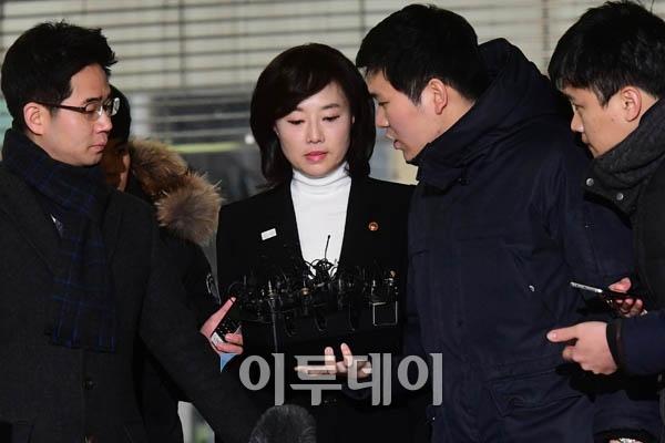 """김기춘·조윤선, 특검 출석… """"진실 특검에서 밝혀지길 기대 ..."""