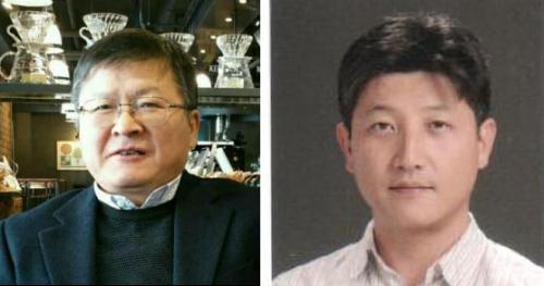 ▲건국대 박영민 교수, 한희동 교수.
