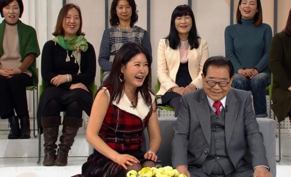 ▲유지나(왼), 송해(사진제공=KBS)