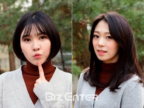 ▲칠학년 일반 신이랑(왼쪽), 강민주(사진=윤예진 기자 yoooon@)