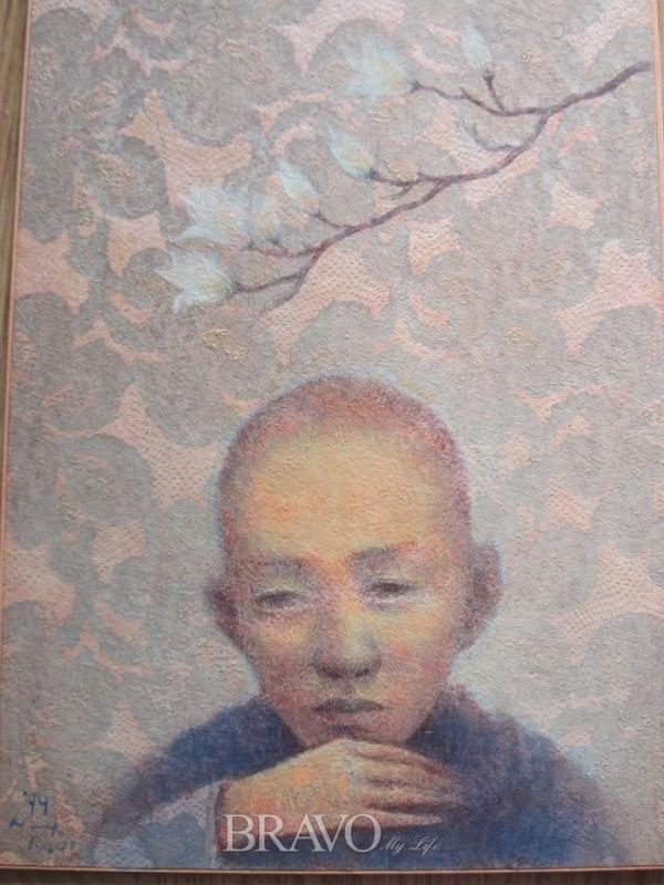▲박항률 <봄꿈> 두터운 종이에 아크릴물감 25.8cm x 17.9cm 1999년. (이재준 미술품 수집가)