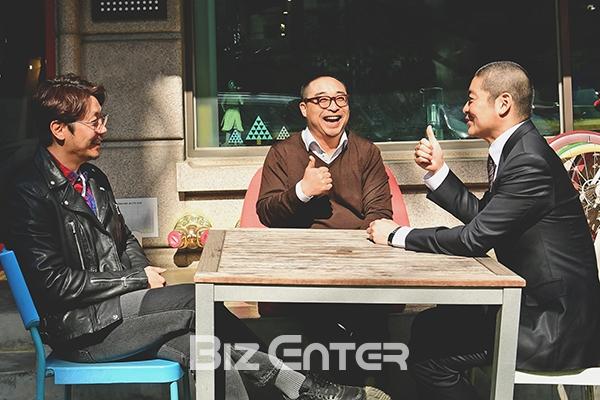 ▲(왼쪽부터)양성민 대표, 최아람 대표, 백승환 대표(사진=윤예진 기자 yoooon@)