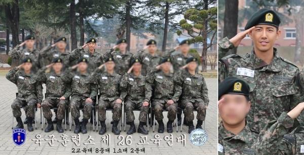 ▲방송인 황광희(사진=육군훈련소)