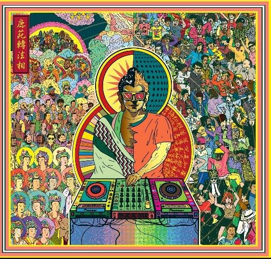 ▲팔상도 (八相圖), 붓다, 히어로의 일생 Buddha. Life of Hero, 녹원전법상(鹿苑轉法相), 44.7 x 42 cm, C-print, Diasec, Edition 10, 2014.(출처=양경수 작가)