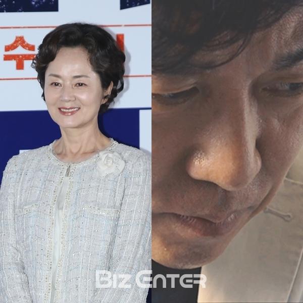 ▲김영애, 이영돈 PD(출처=비즈엔터, 이영돈TV)