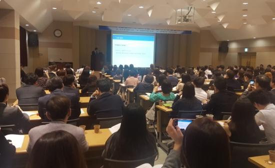 ▲식약처는 20일 한국제약바이오협회에서 설명회를 열어 의약품 광고 가이드라인의 주요 내용을 설명했다.
