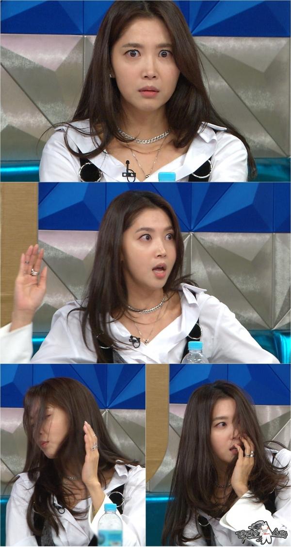 ▲오윤아(출처=MBC '라디오스타')