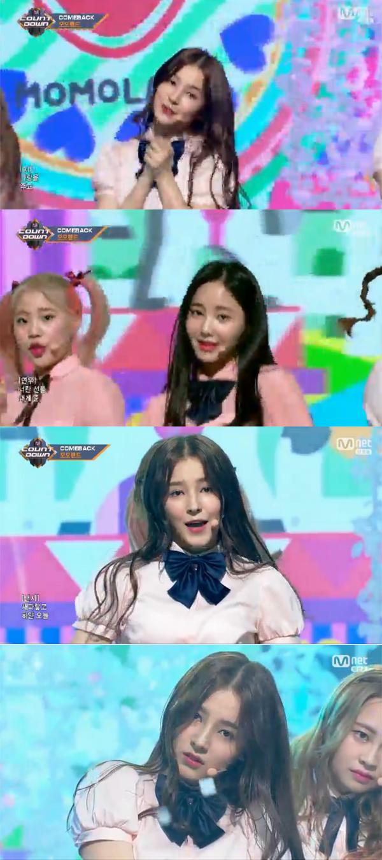 ▲'엠카운트다운' 캡처(사진=Mnet)