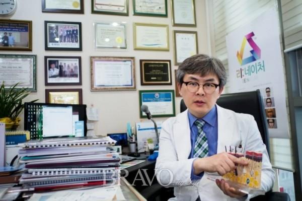 ▲윤정현 회장은 피부병도 다른 질환과 마찬가지로 예방과 조기 치료가 중요하다고 강조했다.(브라보마이라이프DB)