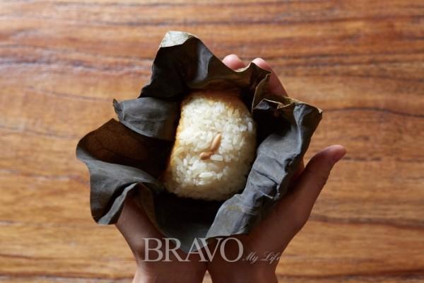 ▲백련잎으로 만든 연밥(오병돈 프리랜서(Studio Pic) obdlife@gmail.com)