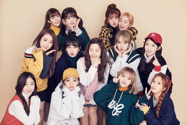 ▲걸그룹 우주소녀(사진=스타쉽엔터테인먼트)