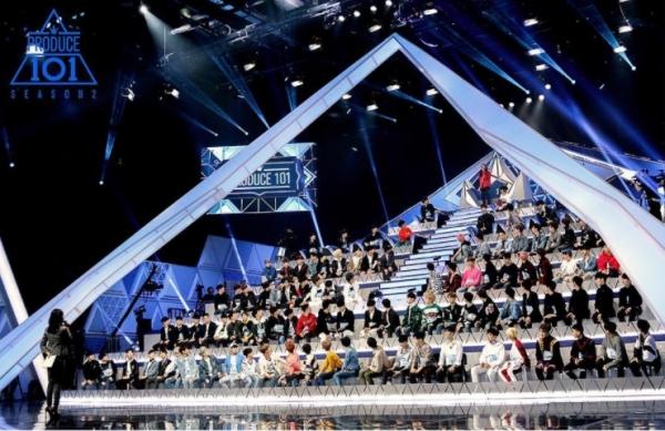 ▲Mnet '프로듀스101 시즌2'(사진=Mnet)