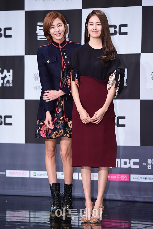 ▲유이(왼), 이요원