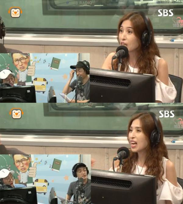 ▲'올드스쿨' 박수림(사진=SBS 파워FM)
