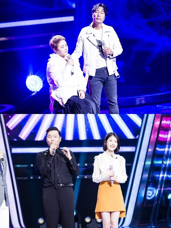 ▲SBS '판타스틱듀오2' 첫 회를 꾸민 이문세 이소라 편, 큰 화제를 모은 싸이 아이유 편(사진=SBS)
