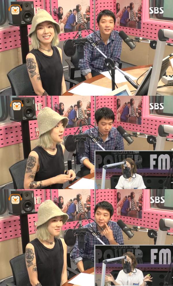 ▲'씨네타운' 요조 최시형(사진=SBS 파워FM)