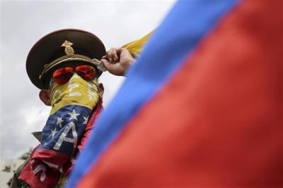 ▲베네수엘라가 정치적 혼란을 겪으며 디폴트 위기에 빠졌다. 사진 = AP연합뉴스