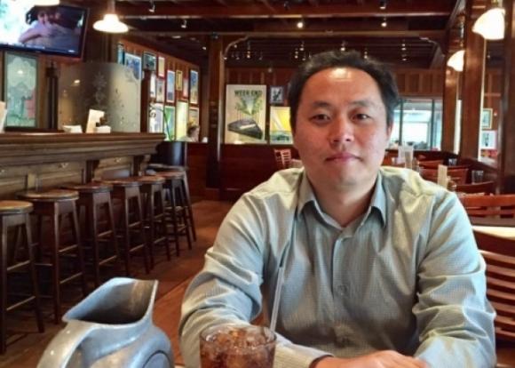 ▲NIA와 퇴행성뇌질환에서 PT302 공동연구를 진행한 김동석 펩트론 연구원.