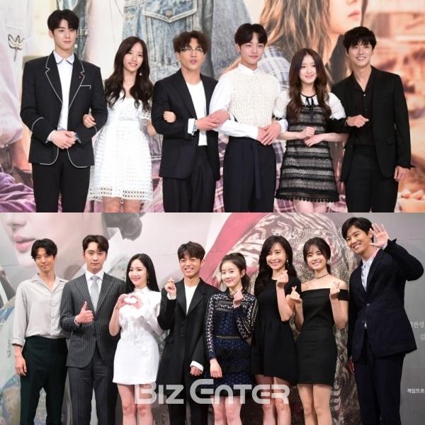 ▲KBS2 '7일의 왕비', '최고의 한방' 출연진(사진=비즈엔터)