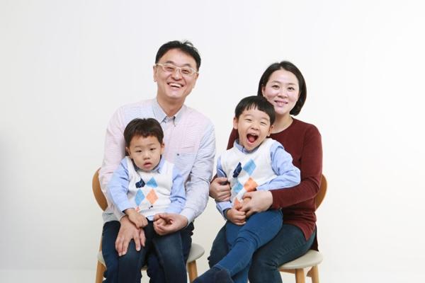 ▲권영찬 가족(사진=권영찬닷컴)