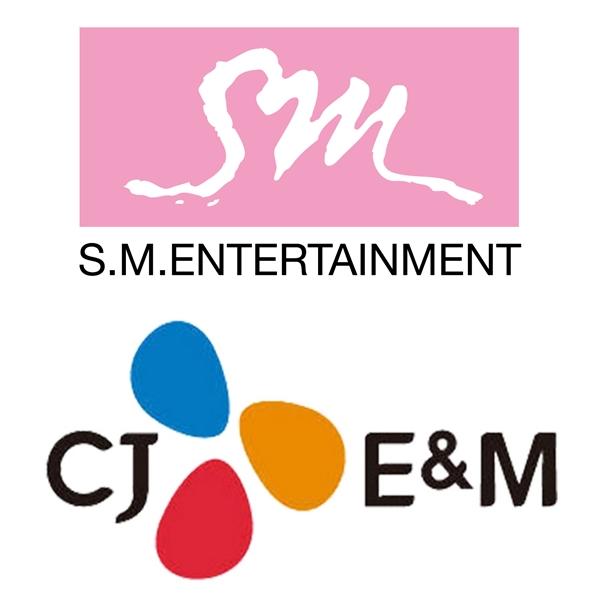 ▲(출처=SM엔터테인먼트, CJ E&M)