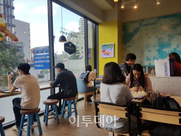 ▲11일 오후 맥도날드 H점의 모습(이투데이DB)