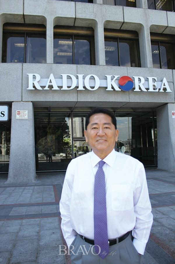 ▲라디오코리아 최영호 부회장(하혜연 LA 객원기자)