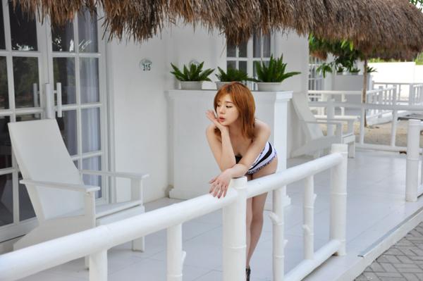 ▲모델 출신 가수 채비니