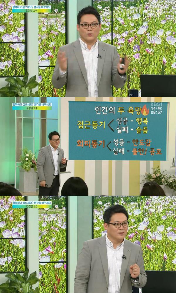 ▲'아침마당' 김경일 교수(사진=KBS1)
