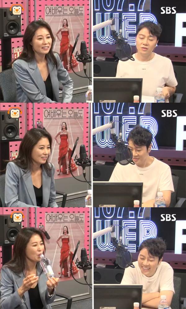 ▲'씨네타운' 문소리(사진=SBS 파워FM)