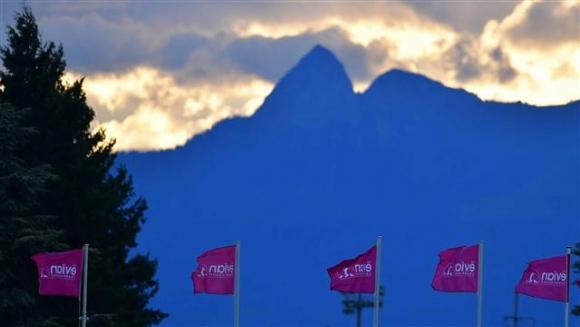 ▲에비앙 챔피언십 첫날 경기가 강풍과 폭우로 경기가 중단됐다. 사진=LPGA